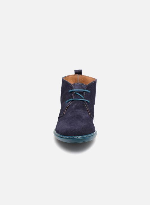 Chaussures à lacets Conguitos Vigo Bleu vue portées chaussures