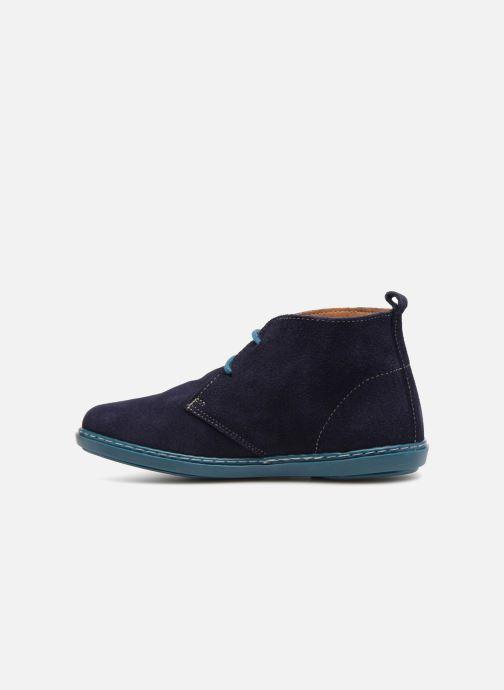 Chaussures à lacets Conguitos Vigo Bleu vue face