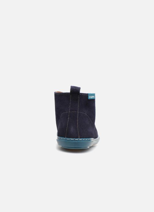 Chaussures à lacets Conguitos Vigo Bleu vue droite