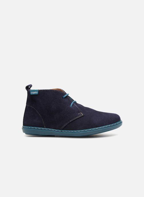 Chaussures à lacets Conguitos Vigo Bleu vue derrière