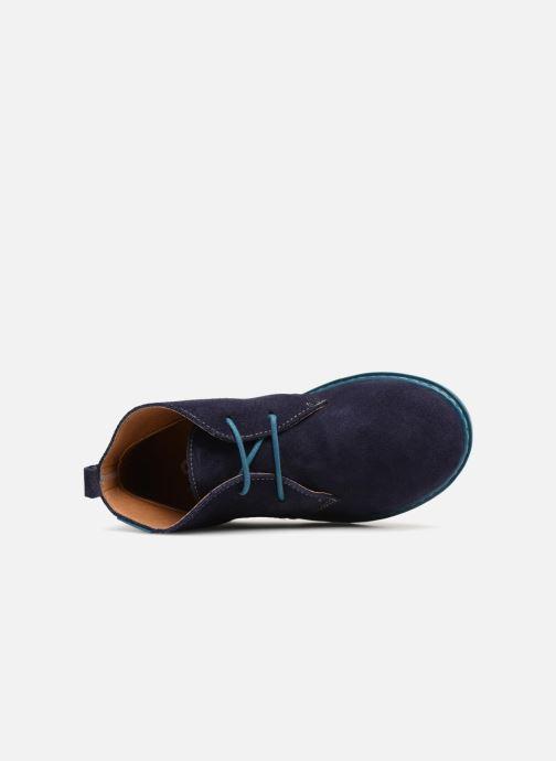 Chaussures à lacets Conguitos Vigo Bleu vue gauche