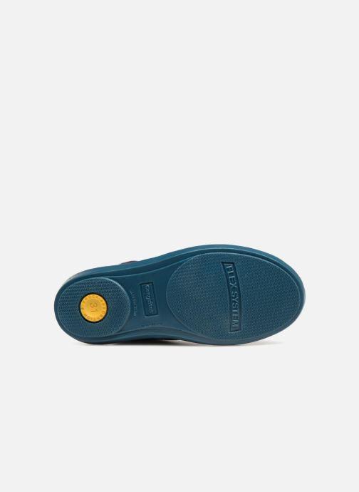 Chaussures à lacets Conguitos Vigo Bleu vue haut