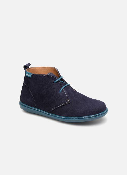 Chaussures à lacets Conguitos Vigo Bleu vue détail/paire