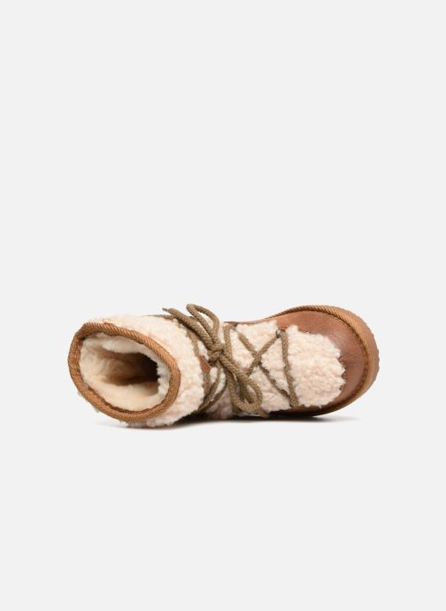 Stivali Fresas by Conguitos Mia Marrone immagine sinistra