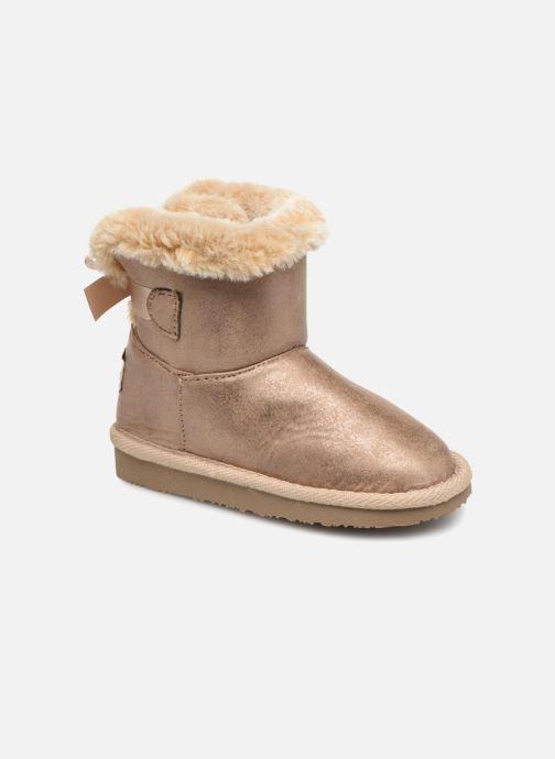 Bottines et boots Osito by Conguitos Pilar Or et bronze vue détail/paire