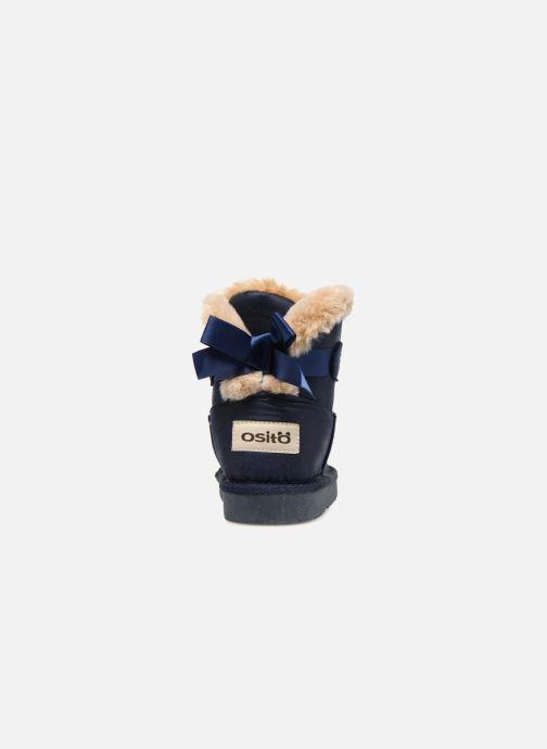 Bottines et boots Osito by Conguitos Pilar Bleu vue droite