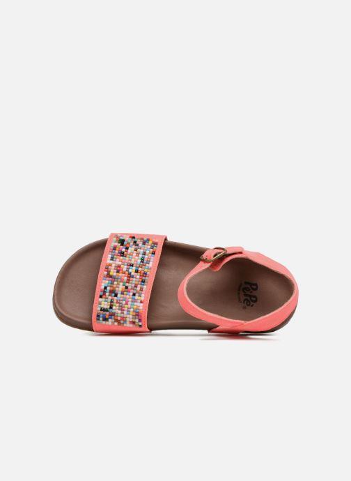 Sandales et nu-pieds PèPè Elsa 2 Orange vue gauche