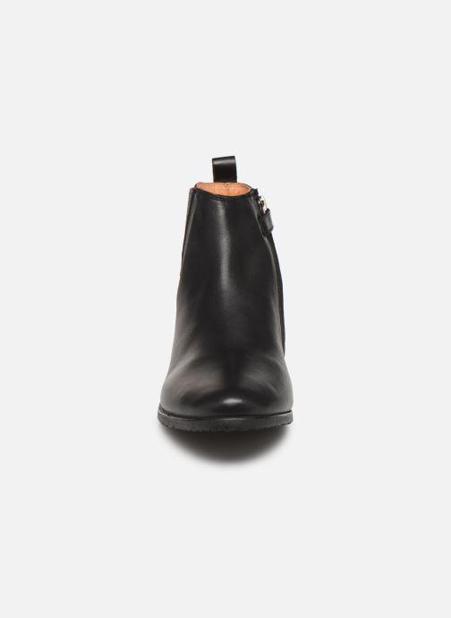 Bottines et boots Adolie Odeon Flash Noir vue portées chaussures