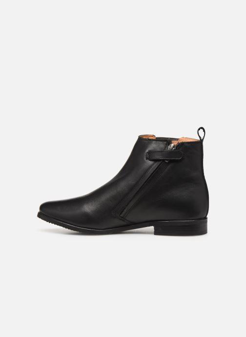 Bottines et boots Adolie Odeon Flash Noir vue face