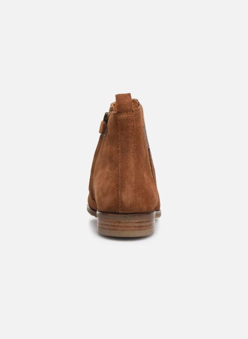 Boots en enkellaarsjes Adolie Odeon Flash Bruin rechts