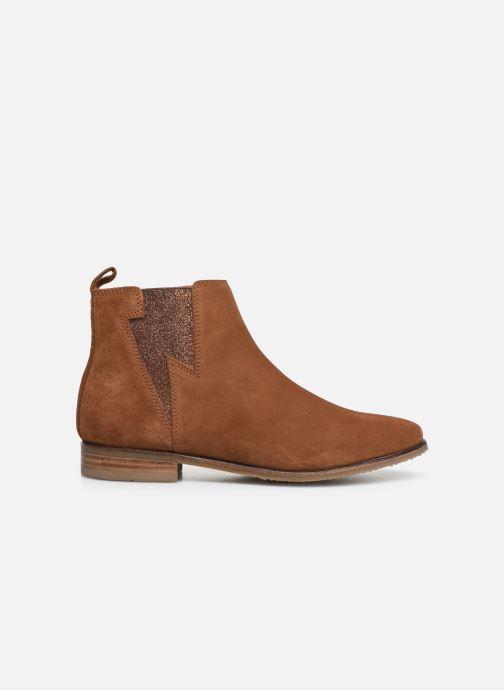 Boots en enkellaarsjes Adolie Odeon Flash Bruin achterkant