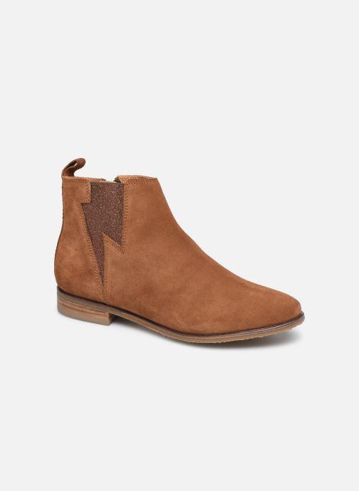 Boots en enkellaarsjes Adolie Odeon Flash Bruin detail