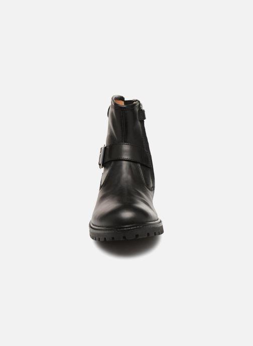 Bottines et boots Adolie Jojo Buckle Noir vue portées chaussures