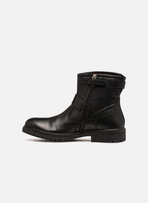 Bottines et boots Adolie Jojo Buckle Noir vue face
