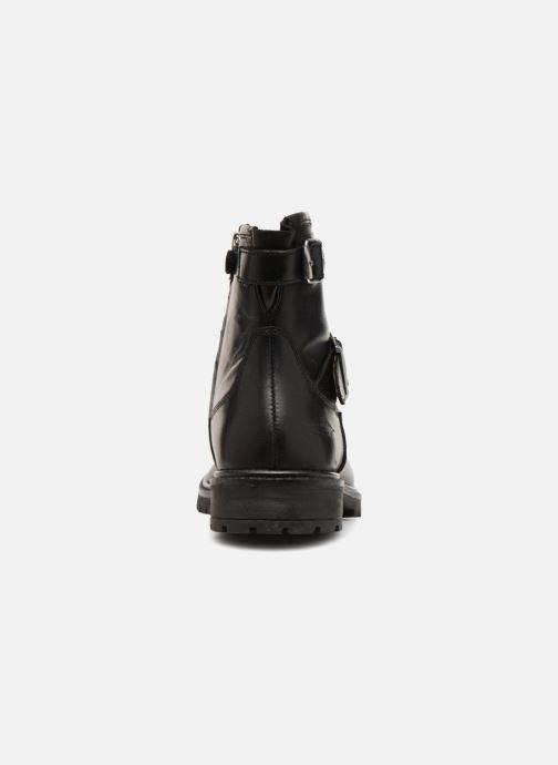 Bottines et boots Adolie Jojo Buckle Noir vue droite