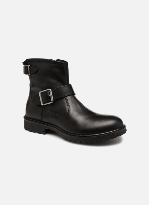Bottines et boots Adolie Jojo Buckle Noir vue détail/paire