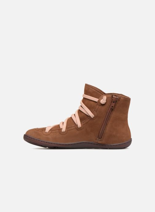 Ankle boots Camper Peu Cami 43104 Brown front view