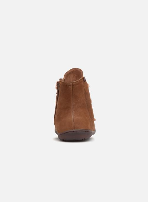 Ankle boots Camper Peu Cami 43104 Brown view from the right