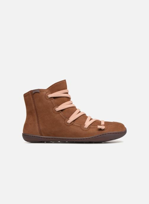 Ankle boots Camper Peu Cami 43104 Brown back view