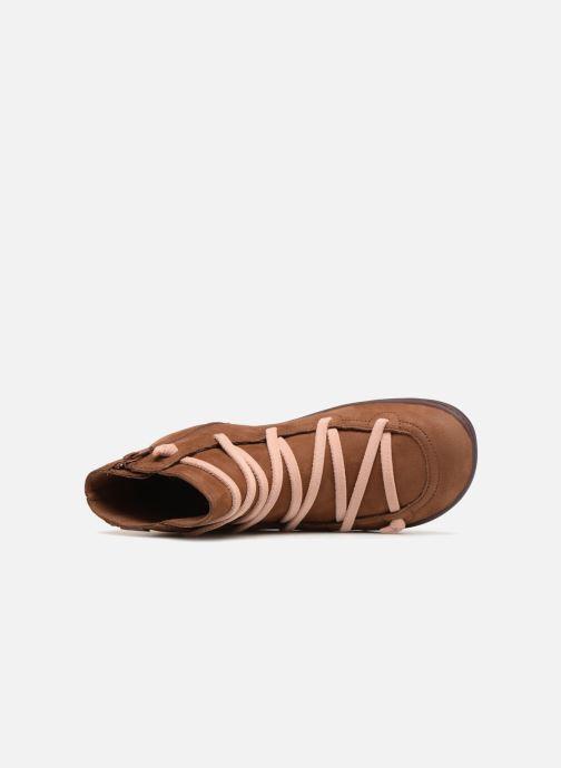 Boots en enkellaarsjes Camper Peu Cami 43104 Bruin links