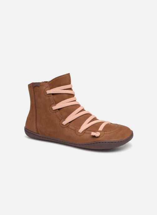 Ankle boots Camper Peu Cami 43104 Brown detailed view/ Pair view