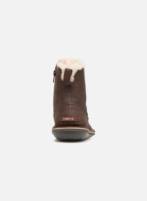 Bottines et boots Camper Beetle K400292 Marron vue droite