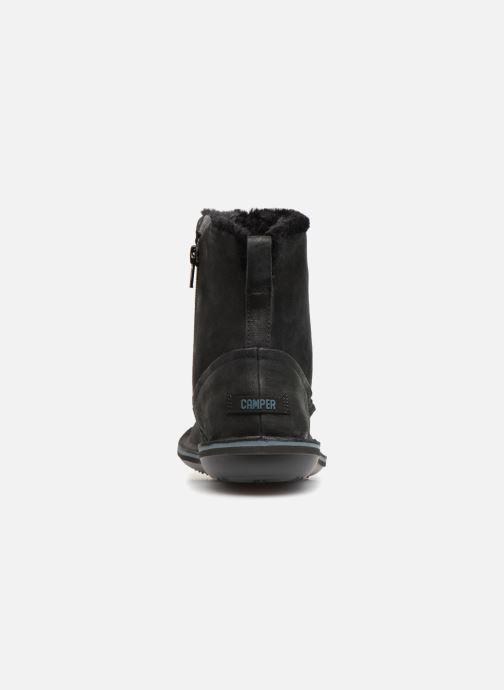 Boots en enkellaarsjes Camper Beetle K400292 Zwart rechts