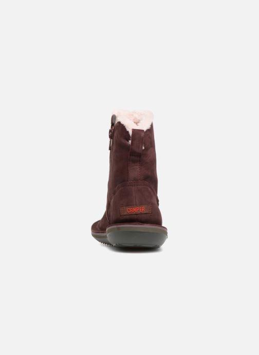 Bottines et boots Camper Beetle K400292 Violet vue droite