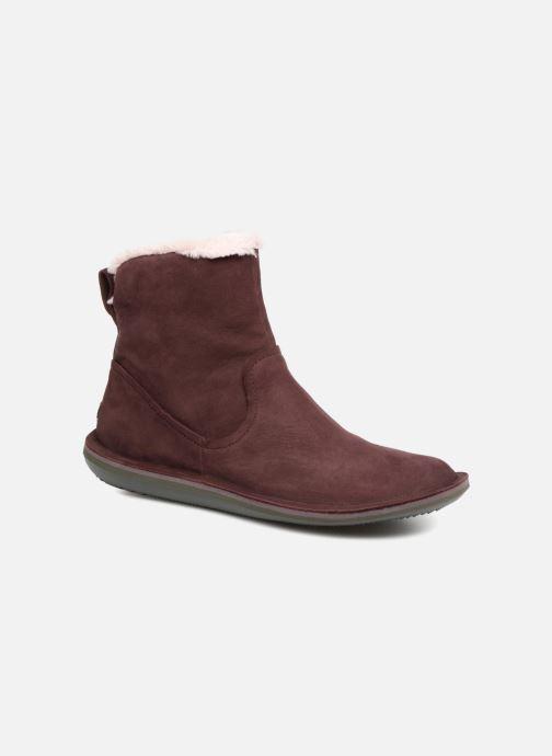 Bottines et boots Camper Beetle K400292 Violet vue détail/paire