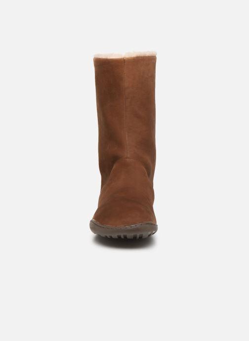 Bottes Camper Peu Cami K400295 Marron vue portées chaussures