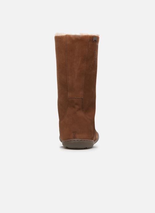 Boots & wellies Camper Peu Cami K400295 Brown view from the right