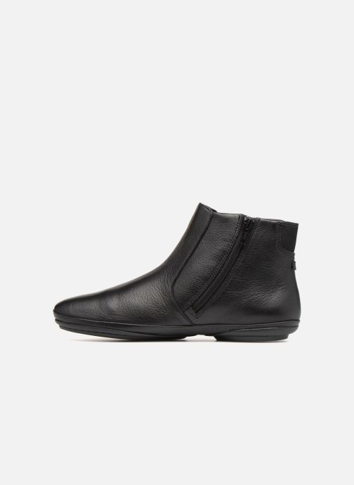 Ankle boots Camper Right Nina K400313 Black front view
