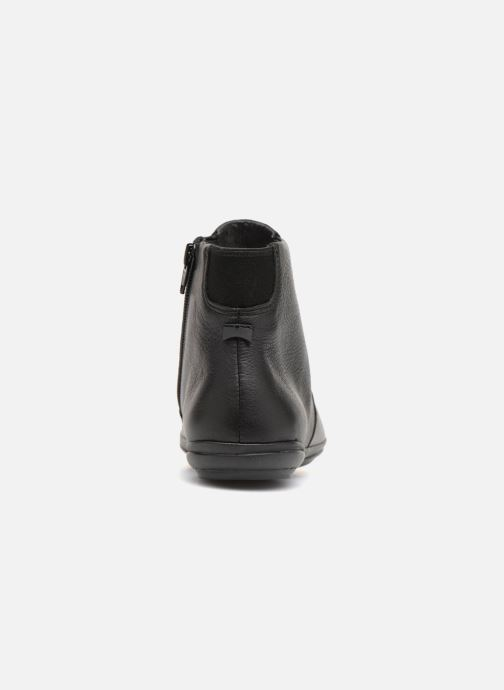 Ankle boots Camper Right Nina K400313 Black view from the right