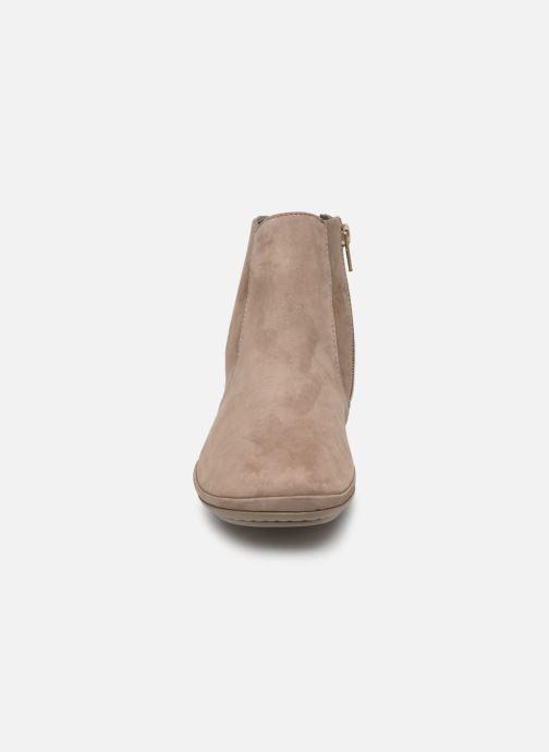 Bottines et boots Camper Right Nina K400313 Gris vue portées chaussures