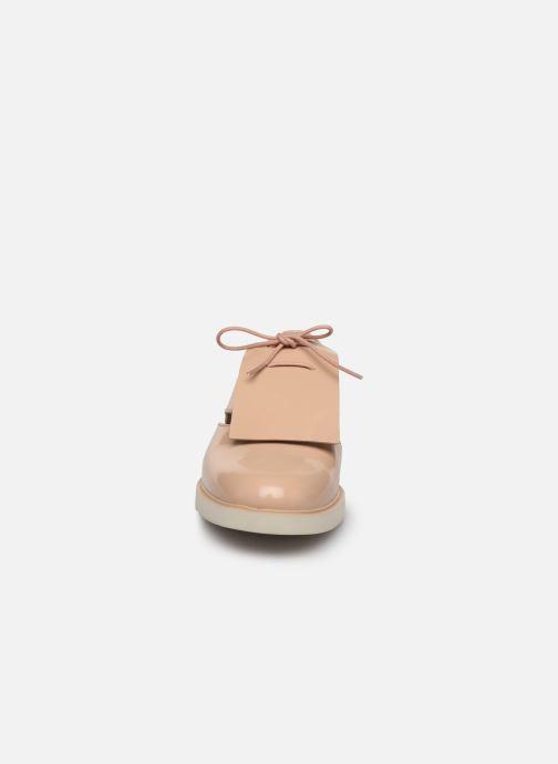 Chaussures à lacets Camper Tws K200718 Beige vue portées chaussures