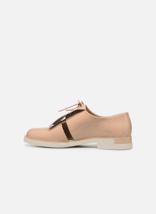 Chaussures à lacets Camper Tws K200718 Beige vue face