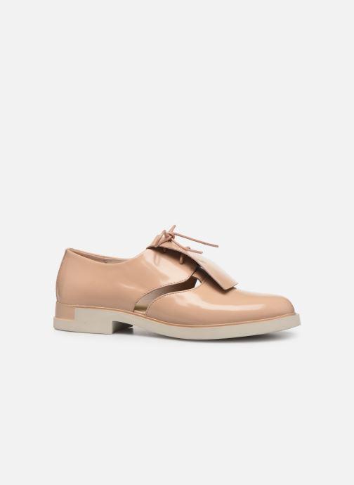 Chaussures à lacets Camper Tws K200718 Beige vue derrière