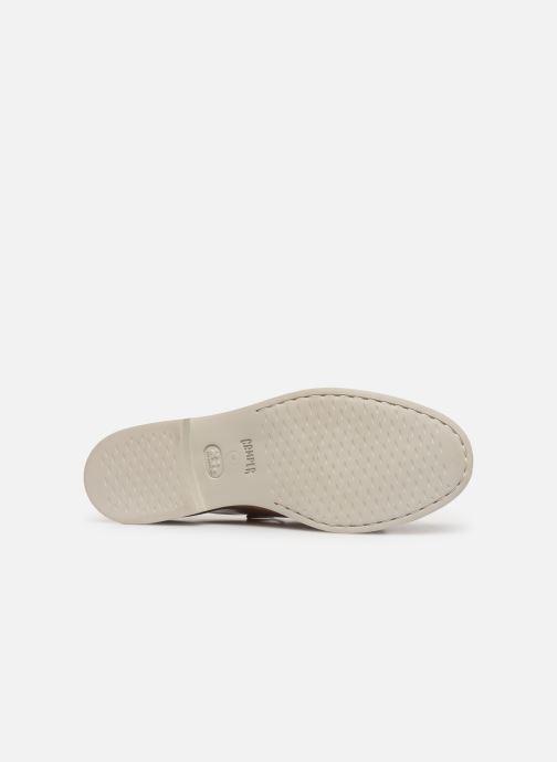 Chaussures à lacets Camper Tws K200718 Beige vue haut