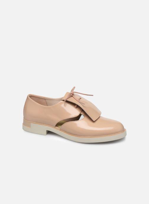 Chaussures à lacets Camper Tws K200718 Beige vue détail/paire
