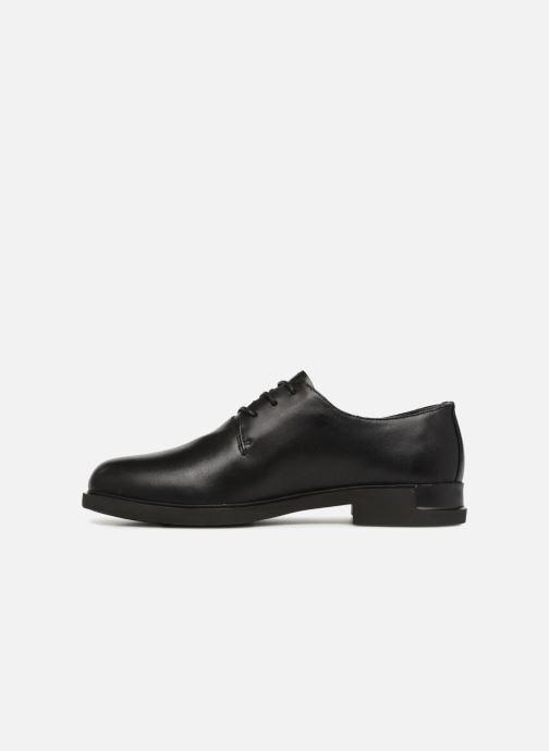 Chaussures à lacets Camper Iman K200685 Noir vue face