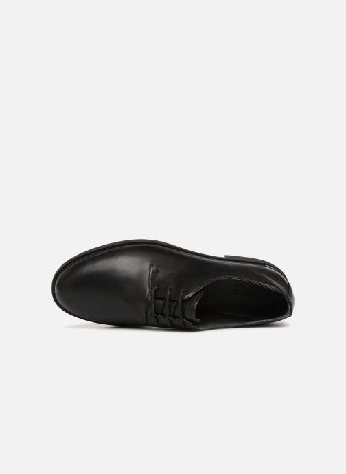 Chaussures à lacets Camper Iman K200685 Noir vue gauche