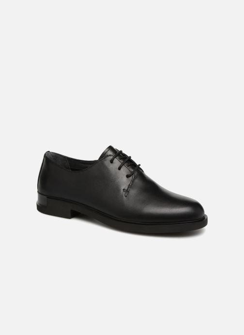 Chaussures à lacets Camper Iman K200685 Noir vue détail/paire