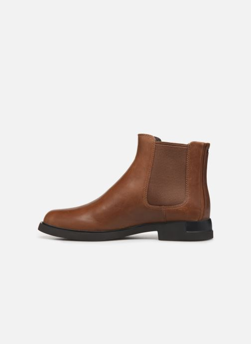 Ankle boots Camper Iman K400299 Brown front view