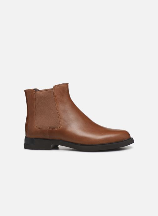 Ankle boots Camper Iman K400299 Brown back view