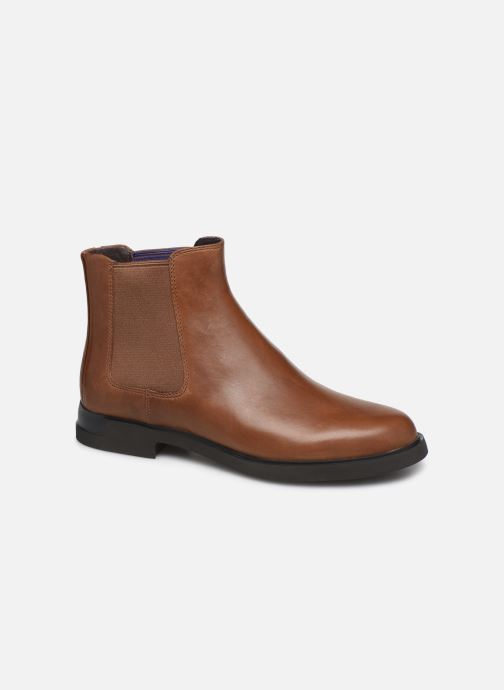 Ankle boots Camper Iman K400299 Brown detailed view/ Pair view