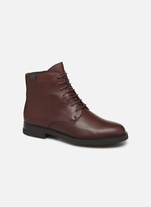Ankle boots Camper Iman K400342 Burgundy detailed view/ Pair view