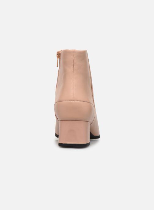 Bottines et boots Camper Katie K400311 Beige vue droite