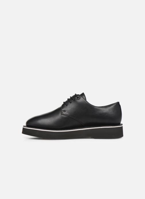 Chaussures à lacets Camper Tyra K200734 Noir vue face