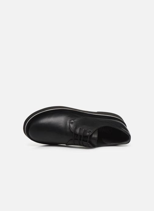 Chaussures à lacets Camper Tyra K200734 Noir vue gauche