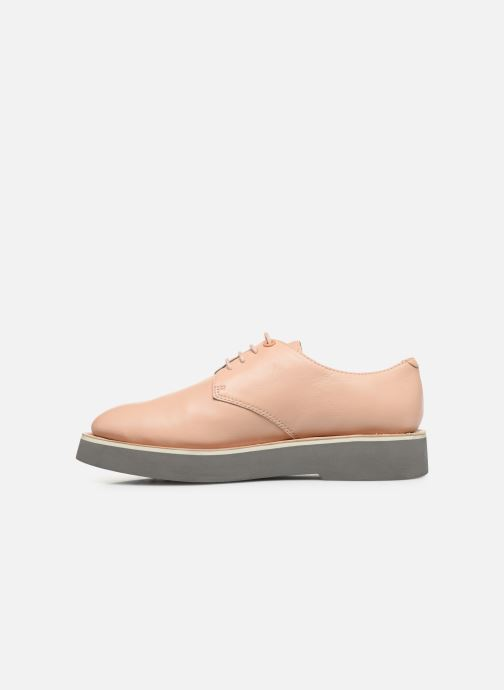 Chaussures à lacets Camper Tyra K200734 Beige vue face